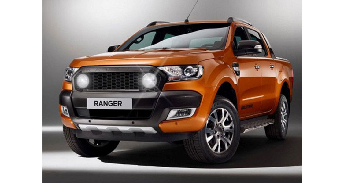 Ax4 Ford Ranger Light Grille